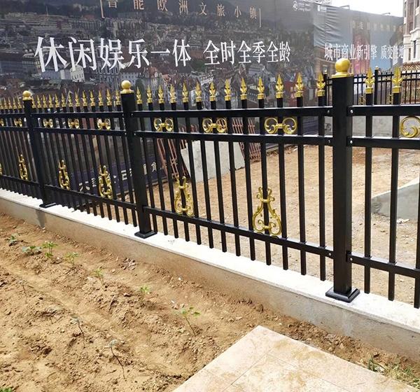 大连铁艺围栏